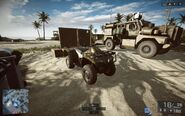 Quad Bike 3rd Person Front