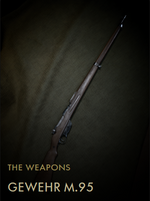 Gewehr M95 Codex Entry