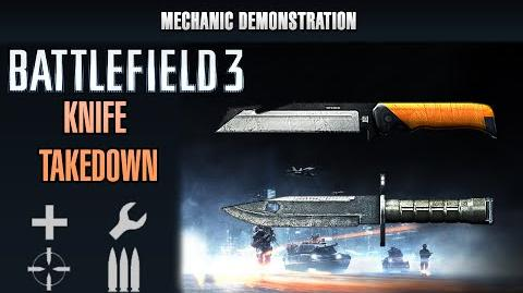 Battlefield 3 Mechanic Demonstration - All Knife Takedown Animations