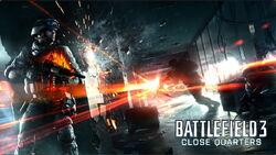 BF3 Close Quarters Poster