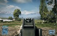 BF3 UMP-45 Iron Sight
