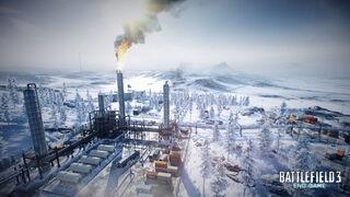 End Game Sabalan Pipeline Water