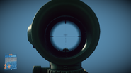 Battlefield 3 M145 Optics