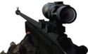BFBC2 SV-98 4X Rifle Scope