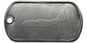 BF4 AC-130U Master Dog Tag