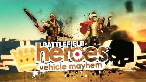 Battlefield Heroes - Vehicle Mayhem