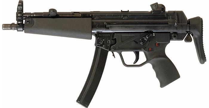 Heckler & Koch HK MP5 Submachine Gun (SMG) / Machine Pistol