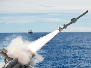 Cruise missile launch navy photo