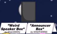 Weirdspeakerbox announcerbox