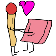 Match and Eraser are in Love