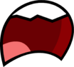 Open Teethed Frown Wide BFDI