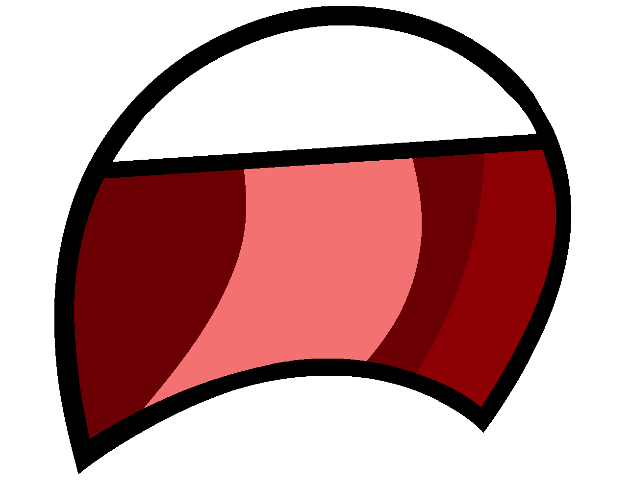 Image Frown Big Mouth Bfdi Png Object Shows