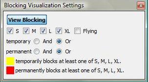 Blockin Visualization Settings