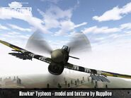 Hawker Typhoon 2