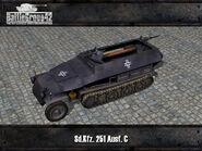 Sdkfz 251 render 1