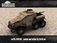 Laffly S15TOE render desert