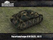 Panzer III M render