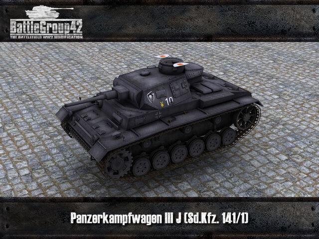 File:Panzer III J render.jpg
