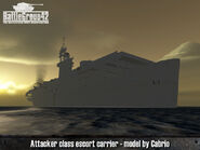 Attacker-class escort carrier 2