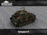 Sturmpanzer VI render