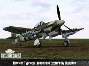 Hawker Typhoon 1