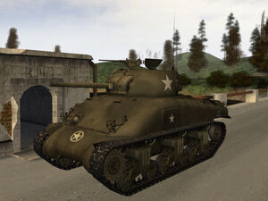 M4a1 sherman late 1