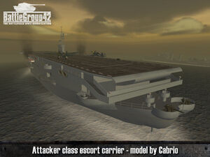 Attacker-class escort carrier 1