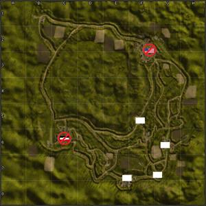 4407-Barkmanns Corner map