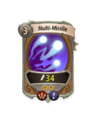 Magic 1 CARD HERO MULTI MISSILE MIN