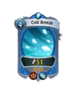 Magic 1 CARD HERO COLD BREEZE MIN