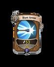 Ranged 0 CARD HERO BLUNT ARROW