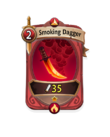 Melee 0 CARD HERO SMOKING DAGGER
