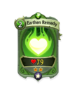 Magic 1 CARD HERO EARTHEN REMEDY MIN