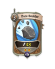 Melee 1 CARD HERO BOULDER