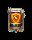 Ranged 1 CARD HERO GUARDING LIGHT