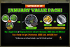 January Value Pack 20-29