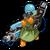 S laser trooper icon