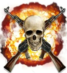 Battle Pirates Logo Skull Smaller