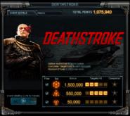 Deathstroke Event Details