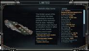 Harlock's Atlas Carrier Stats