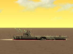 USS Nimitz CVN-68 (Nimitz-Class Supercarrier)