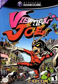 Viewtiful Joe Box Art
