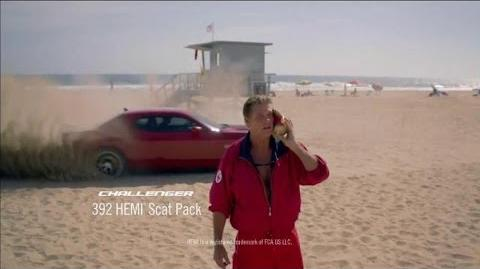 Dodge Summer Clearance Event Baywatch Featuring David Hasselhoff ~ Commercial Dodge 2015 HD
