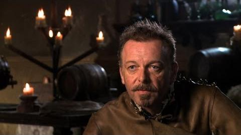 Hugo Speer unwraps Captain Treville - The Musketeers - BBC One