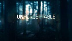 Unforgettable promo logo