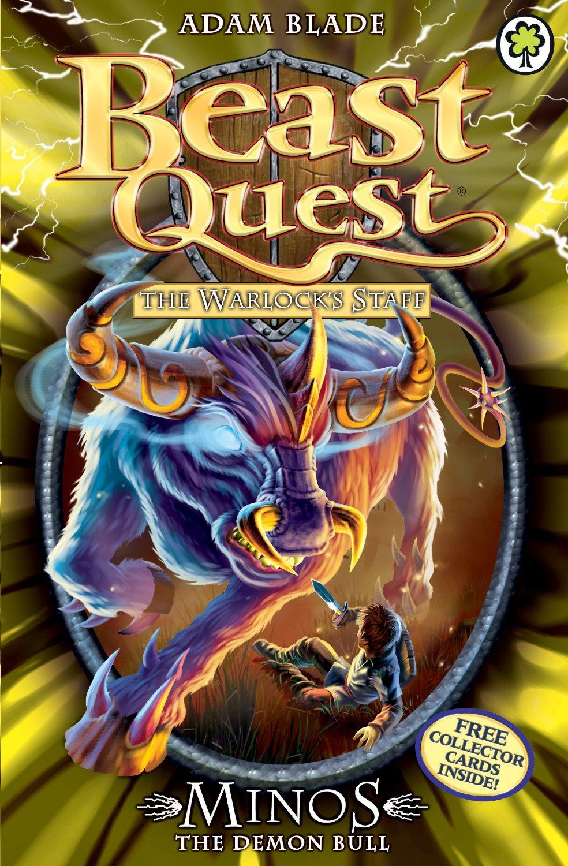 minos the demon bull  beast quest wiki  fandom powered