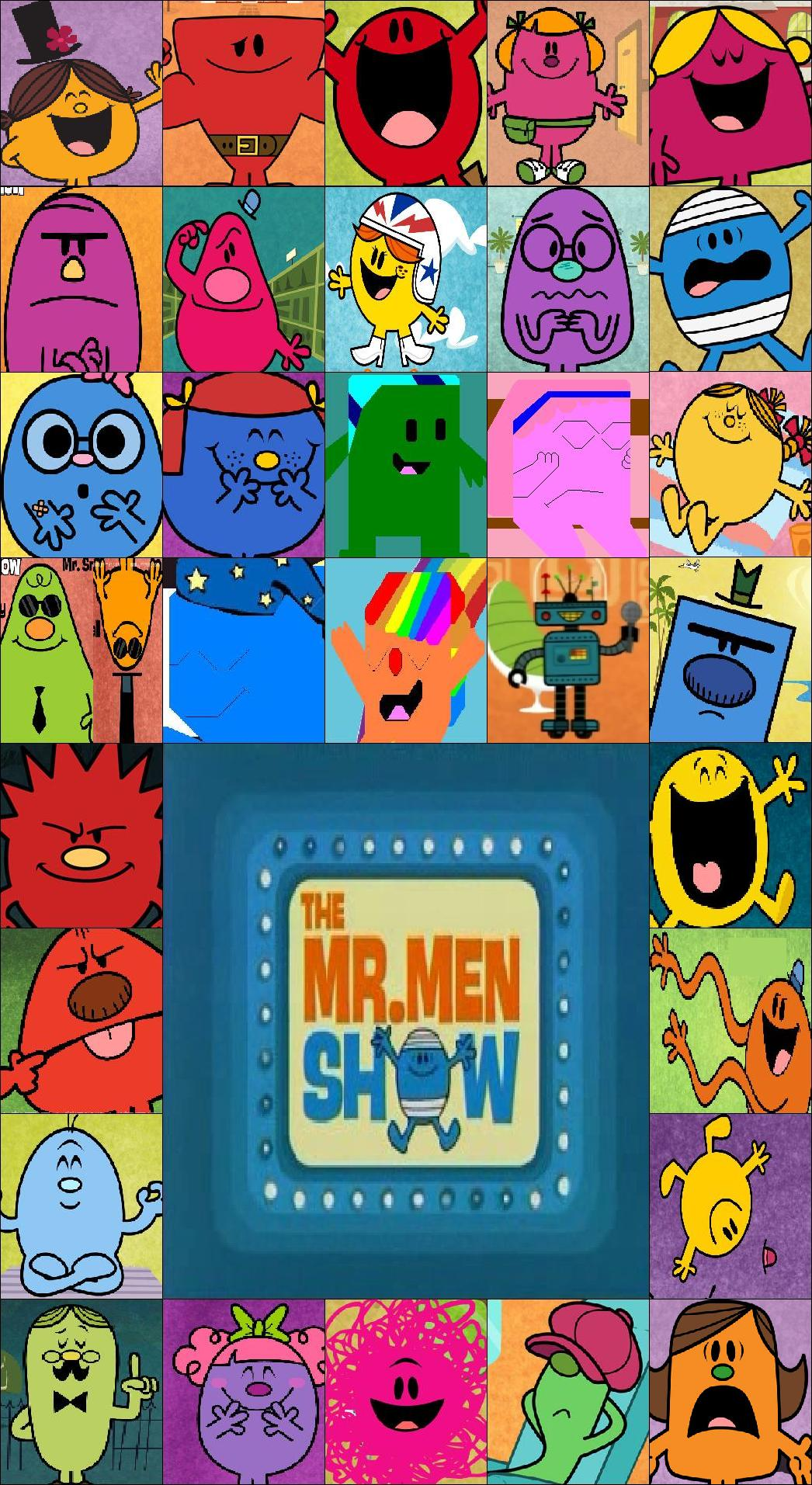 how to draw mr men