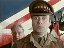 Victor Spinetti as The crazy Army Sergeant