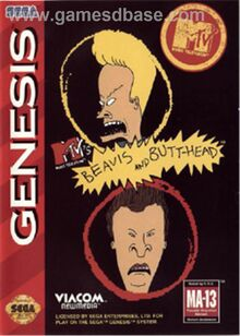 Sega Genesis Beavis and Butt-Head