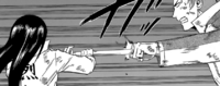 Ogata's Attack Being Blocked